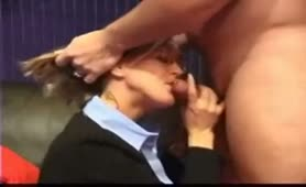 Hot legal advisor spouse gets a facial